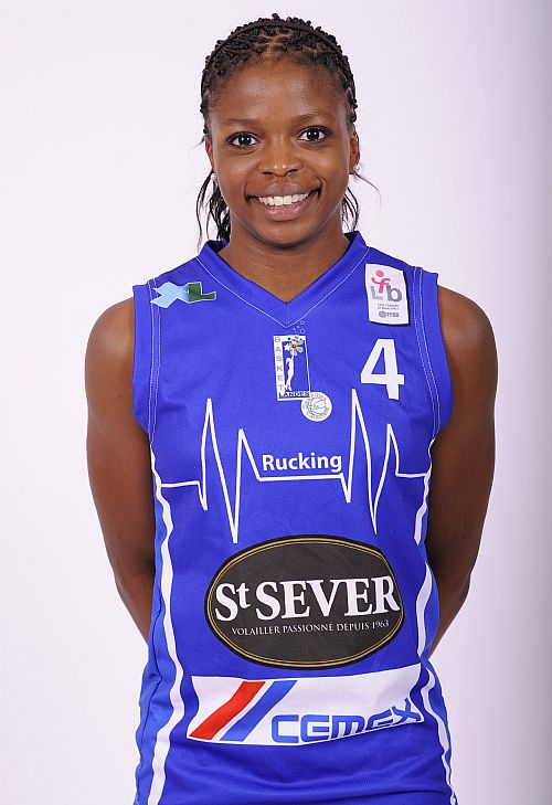 Olivia Epoupa, belle recrue pour le TMB (photo : LFB)