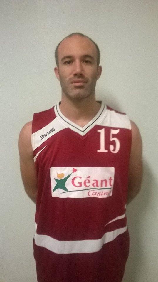 Dimitri Salles sous ses nouvelles couleurs (photo : Agen BC)