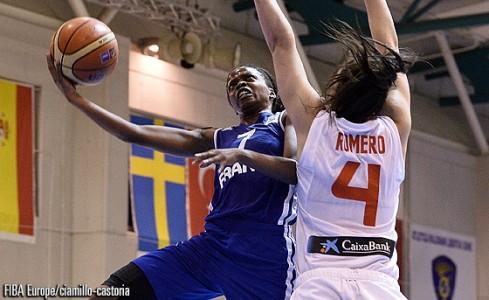 Olivia Epoupa a été désignée meilleure joueuse du tournoi ! (photo : FIBA Europe)