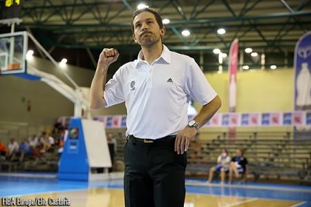 Jérôme Fournier et les Bleuettes sont championnes d'Europe ! (photo : FIBA Europe)