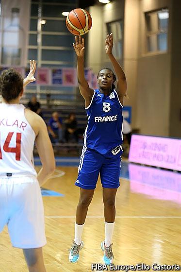 Mamignan Touré a été exceptionnelle ce mardi (photo : FIBA Europe)