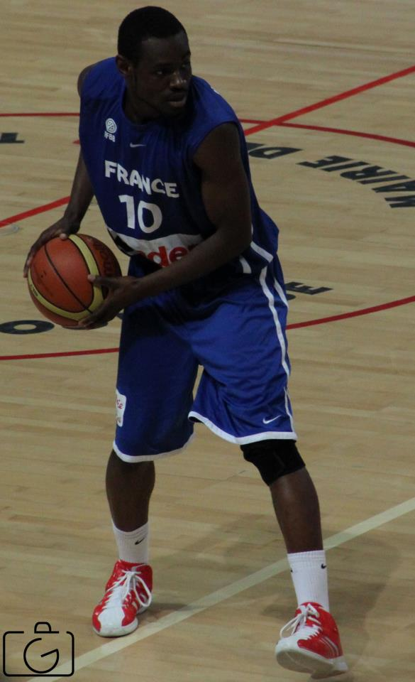 L'international Yannick Bokolo, une belle recrue pour l'Elan Béarnais (photo : Guillaume Poumarede)