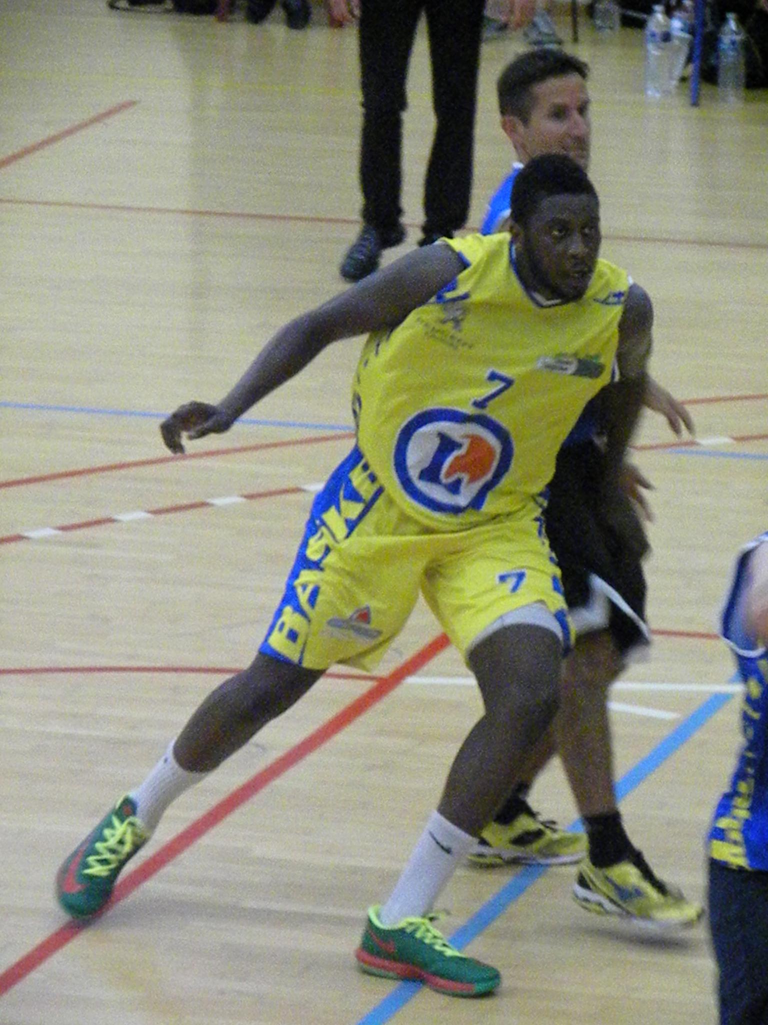 Amadou Diop et le CSB sont toujours invaincus (photo : Benjamin Bonneau)