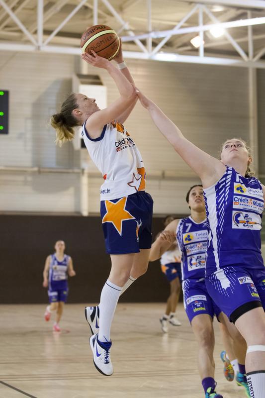 Carole Lebouc et l'USC ont dominé leur sujet à Culoz (photo :  US Colomiers Basket)