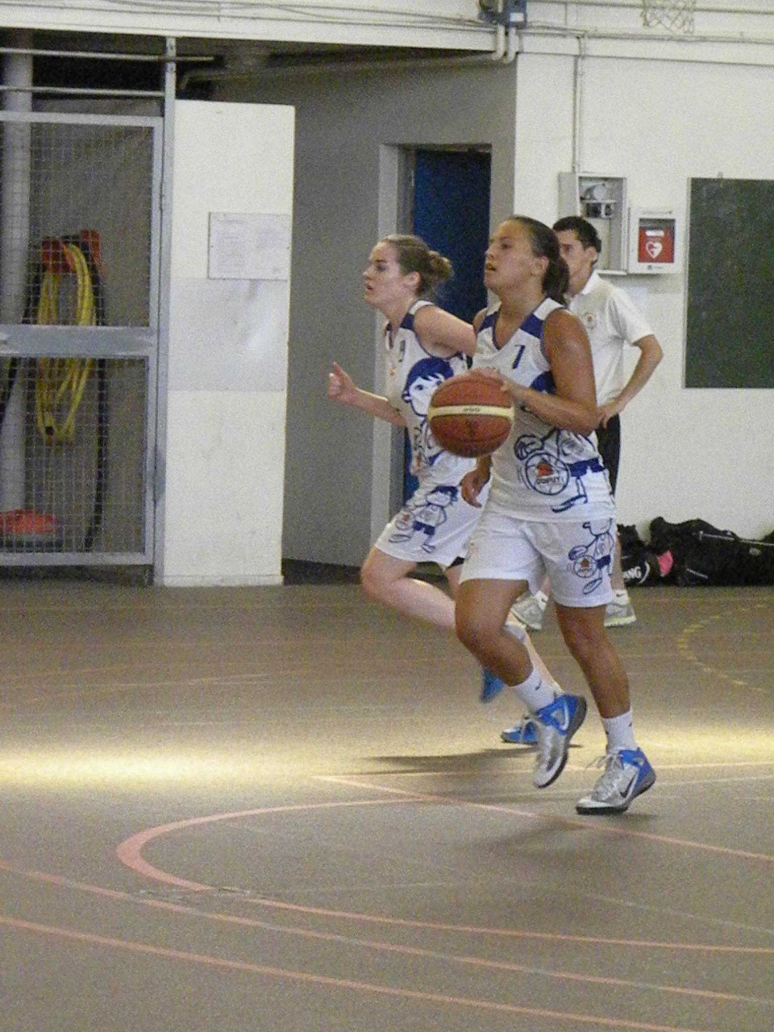 Manon Deslous, 16 points, a mené son équipe à la victoire (photo : Benjamin Bonneau)