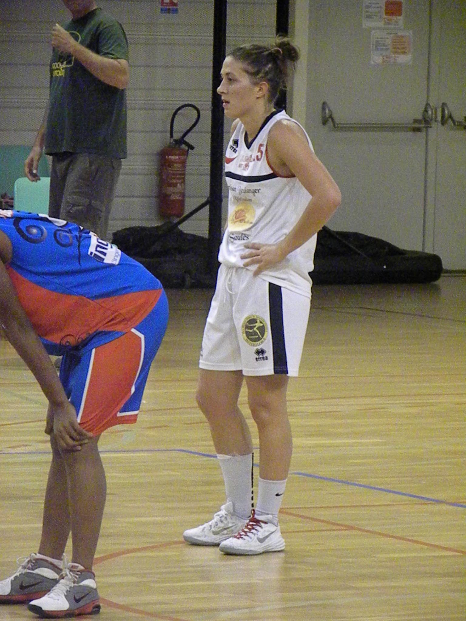 Leslie Héraud a fourni un match de qualité face à l'UVBN (photo : Benjamin Bonneau)