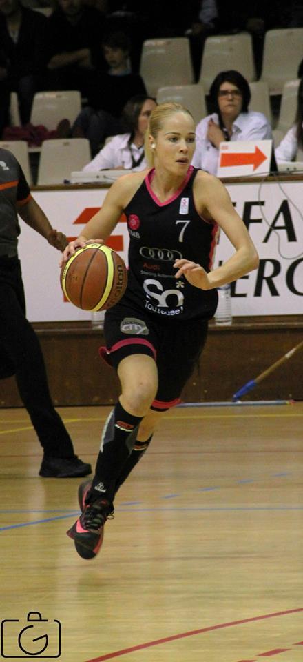 Antonija Misura, l'un des visages du basket pyrénéen depuis deux saisons (photo : Guillaume Poumarede)