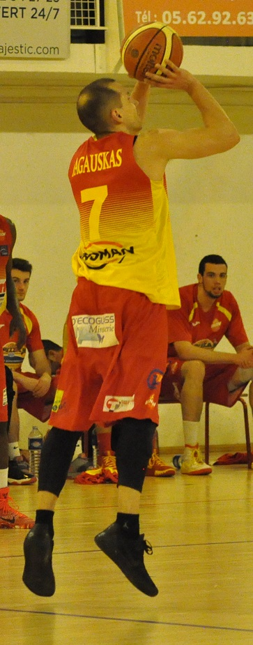 Andrius Ragauskas joueront leur qualification en playoffs lors de la dernière journée (photo : Benjamin Bonneau)