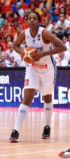 La France montre un tout autre visage depuis le retour d'Endy Miyem (photo : FIBA)
