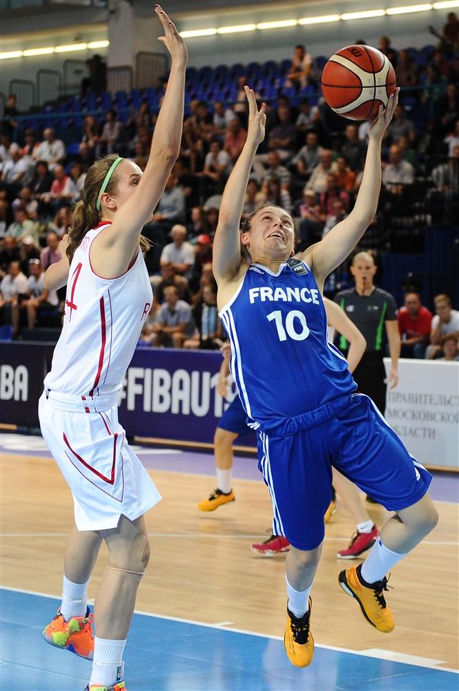 Rose Ducret et les Bleuettes s'arrêtent en quarts (photo : FIBA)