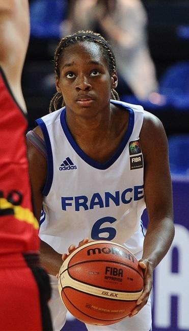 Viktoria Majekodunmi et la France ont bien terminé leur mondial (photo : FIBA)