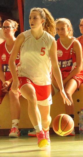 Irrésistible en premier quart-temps, Sarah Albinet a parfaitement lancé les Carmausines (photo : Benjamin Bonneau)