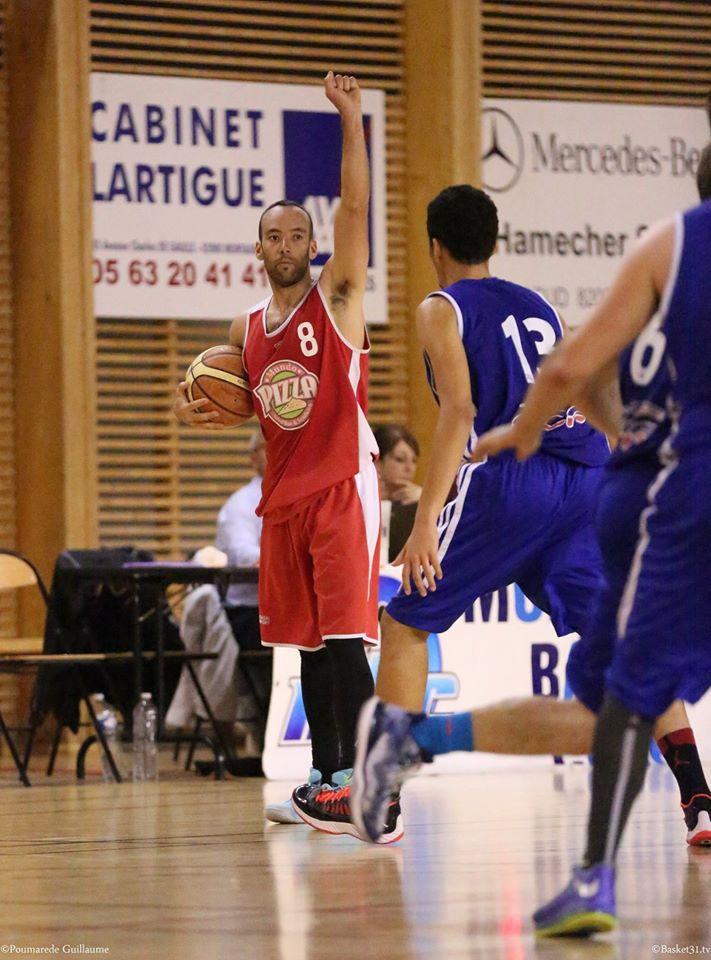 Matthieu Tinseau a inscrit ses 3 points dans les deux dernières minutes (photo : Guillaume Poumarede)