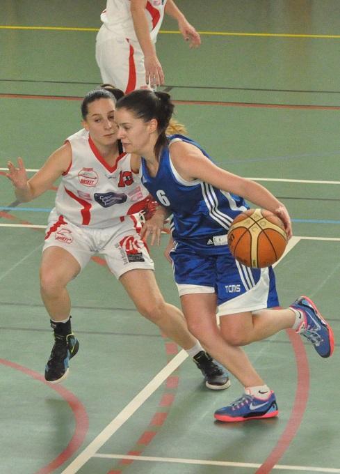Sophie Bouvet (10 points) et l'ATB ont su rester constantes face à Caraman (photo : Benjamin Bonneau)