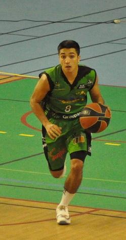 Jordan Debrie et ses 30 points n'ont pas suffi aux Albigeois (photo : Benjamin Bonneau)