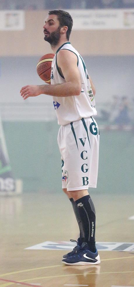 Yohan Desbarats et ses 20 points n'ont pas suffi face au BBM (photo : Guillaume Poumarede)
