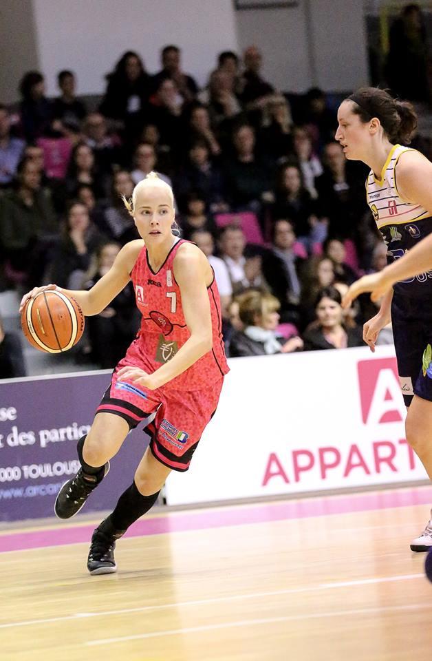 Antonija Misura a soigné sa dernière sortie de la saison avec 29 points (photo : Guillaume Poumarede)
