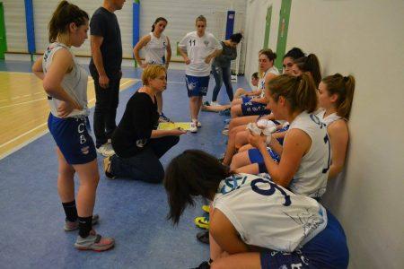 Le SACB de Sandrine Caussade a pris l'avantage face à Monléon (photo : SACB)