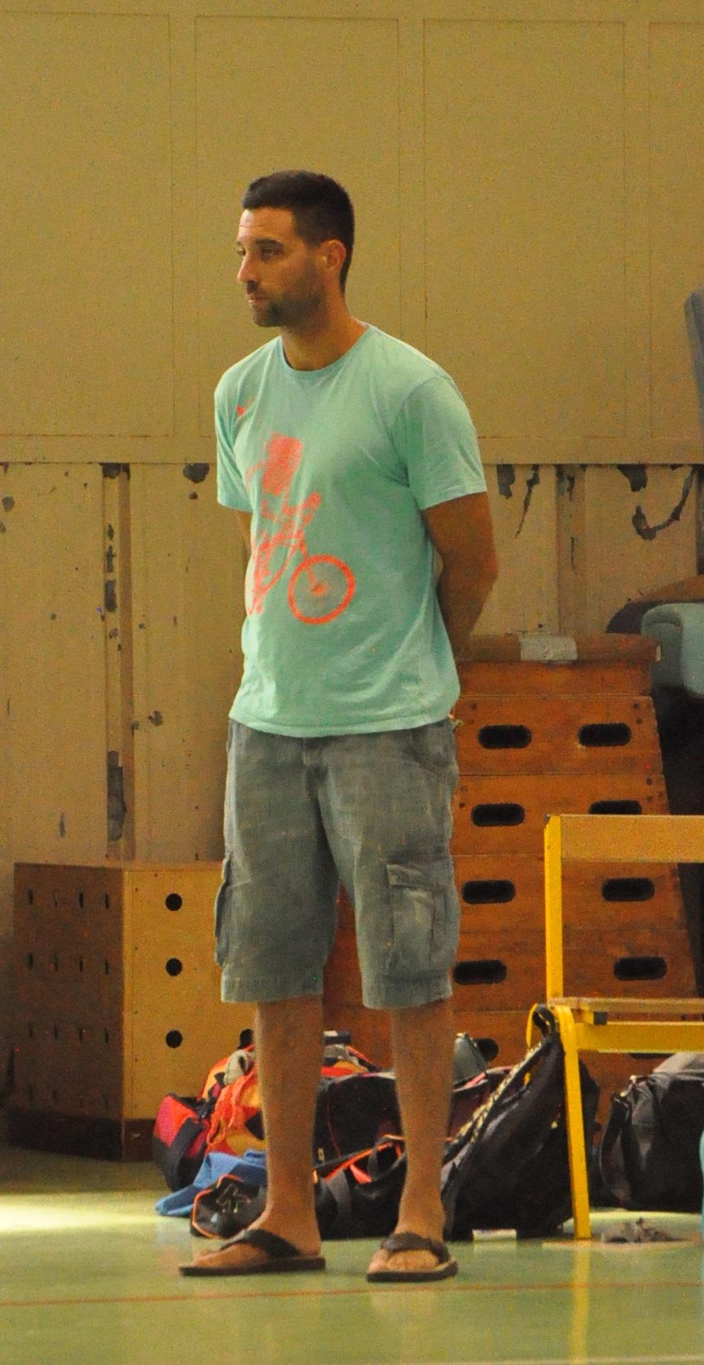 Karim El Gueddari lâche les rênes de l'UVBN après quatre années pleines (photo : Benjamin Bonneau)