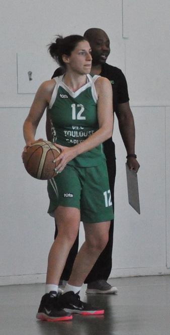 Kristina Grozdeva a porté l'ABBC vers la victoire (photo : Benjamin Bonneau)