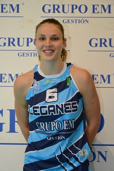 Lola De Angelis évoluait depuis deux saisons au CB Leganes, en Ligue 2 espagnole (photo : CB Leganes)
