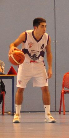 Jordan Debrie aura tout tenté pour relever son équipe durant ce Final Four de Melty Ligue (photo : Benjamin Bonneau)