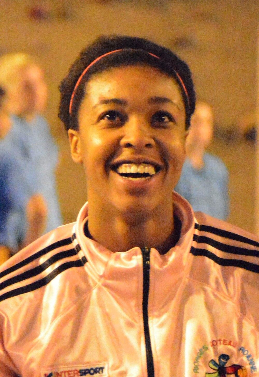 Elvire Attiogbe est la dernière recrue de l'USC (photo : Roanne Basket Féminin)