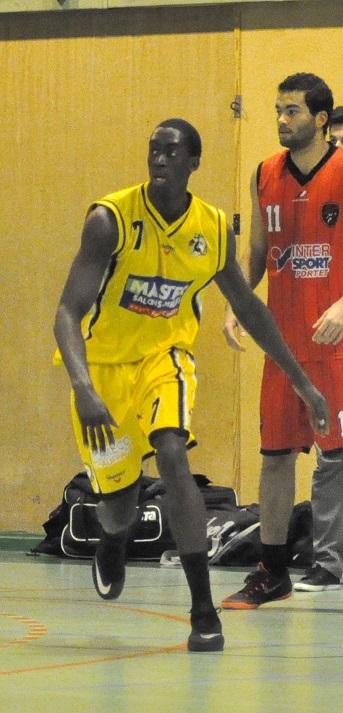 Adama Diouf relève un nouveau challenge au sein de l'ABC (photo : Benjamin Bonneau)