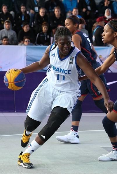 Astou Gaye retrouvera la route du TMB l'an prochain en LF2 (photo : FIBA)