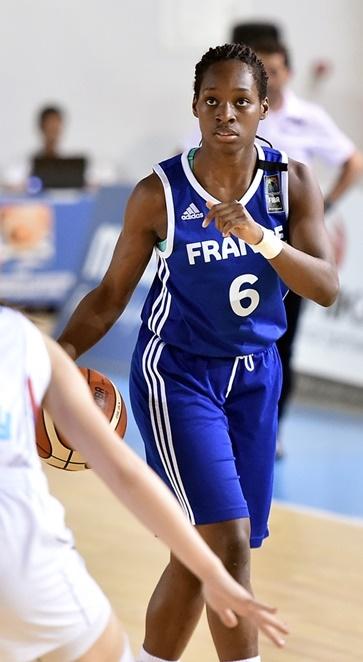 Victoria Majekodunmi et la France s'arrêtent en quarts (photo : FIBA)