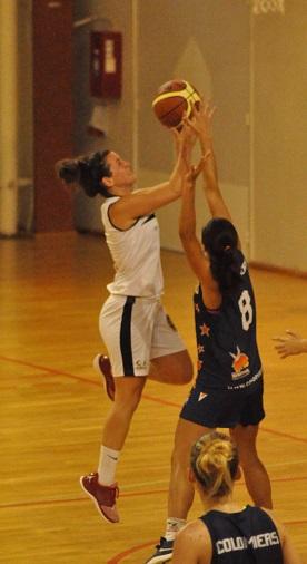 Auteure de 21 points, Adriana Blanco a plané sur la rencontre face à Colomiers (photo : Benjamin Bonneau)