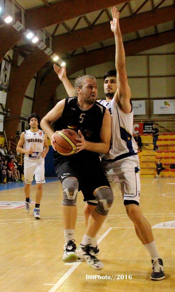 Cyril Guillarme a fait très mal à Elie Fedensieu et aux Toulousains (photo : DH Photo)