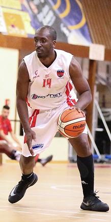 Samuel Ndongo Ngondi a fait basculer la rencontre dans le quatrième quart (photo : Guillaume Poumarede)